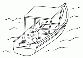 nice boat coloring page for kids transportation coloring pages