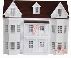 1 12 doll house 3 floor big doll house quality wooden house
