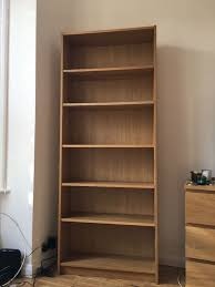 ikea billy bookshelves 2 pieces avail oak veneer very good