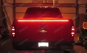 led brake lights for trucks 60 trunk tailgate red white led light bar for reverse brake turn