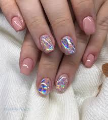 transfer foil nails with base my nails pinterest foil nails