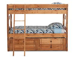 Bunk Beds With Trundle Durango Bunk Bed With Trundle Furniture Row