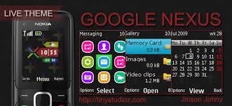 themes nokia c2 mobile google nexus theme for nokia c1 01 nokia c1 02 nokia c2 00 nokia