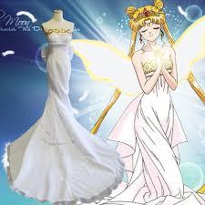 wedding dress anime anime sailor moon costume princess wedding gown