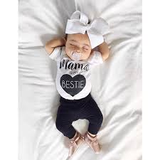 newborn jumpsuit infant baby clothes cotton rompers o neck sleeve