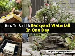 Backyard Waterfall Backyard Waterfall Familyhandyman Com 1200x900 Jpg