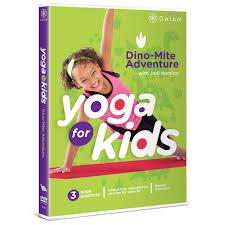 amazon com yoga for kids dino mite adventure jodi komitor