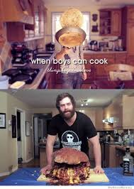 Thingsboysdowelove Meme - when boys can cook thingsboysdowelove funnies pinterest
