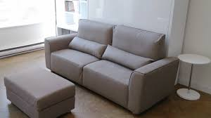 Sofa Bed For Bedroom by Murphysofa Minima Wall Bed Sofa With Storage Ottoman Demo Youtube
