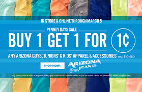 the best deals of black friday in jcpenney buy one get one for a penny at j c penney nerdwallet