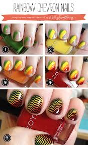 vibrant dancing stripes nail art design tutorial 1755 best nail art images on pinterest make up pretty nails and