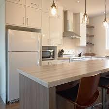 stratifié comptoir cuisine idée relooking cuisine cuisine style contemporain avec comptoir
