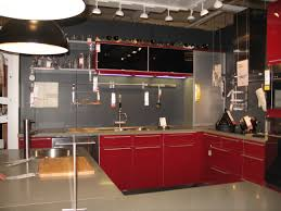 Red Kitchen Decorating Ideas by Design Magnificent Contemporary Red Themed Kitchen Design With