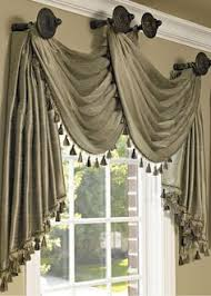 Swag Curtains For Dining Room How To Measure And Install Scarves Window Ideas Pinterest
