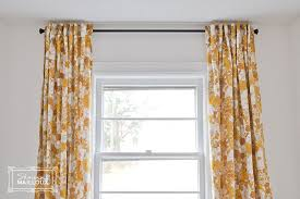 upcycled vintage sheet curtains beautiful matters