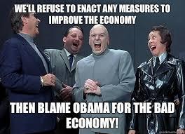 Blame Obama Meme - political memes dr evil blame obama meme