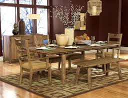 Beautiful Rustic Dining Room Table Set  For Glass Dining Table - Rustic dining room table set