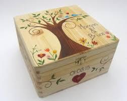 wedding keepsake box wedding memory box rustic wedding gift keepsake memory box