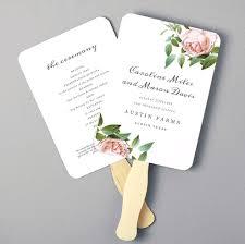 diy wedding programs fans diy wedding program fans wedding photography