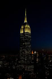 empire state building lights tonight tower lights empire state empire state building and city
