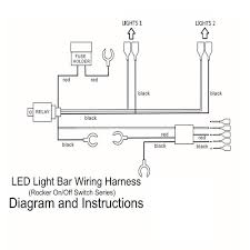 led fog light laser rocker on off switch with relay wiring sales