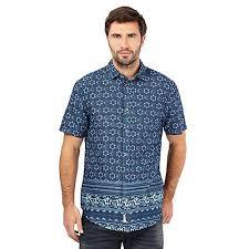 mantaray clothing mantaray clothing mens big and orange birdseye textured