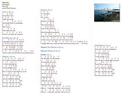 Bad Day Chords One Day Matisyahu Music Letter Notation With Lyrics For Flute