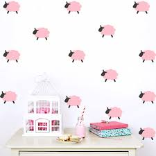 online get cheap decorating baby room aliexpress com alibaba group hot sale creative diy sheep wall stickers for kids rooms bedroom wall sticker home decor living room baby room