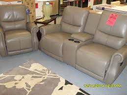 Leather Reclining Sofa With Console by Leather Reclining Sofa Reclining Love Seat With Console