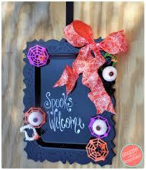 halloween door garland diy dollar tree 6 halloween wreath