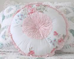 home element decoration charming white shabby chic pillows for