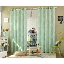 Green Bedroom Curtains Lime Green Floral Beautiful Ombre Curtains