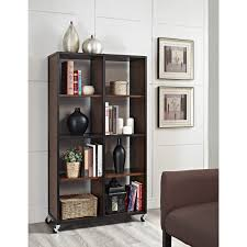 Narrow Bookcases by Furniture Interesting Cream Target Bookshelf For Exciting