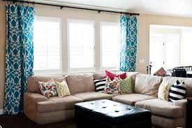 Creative Window Treatments by Extremely Creative Window Treatments Living Room Delightful