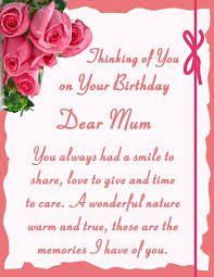 birthday quotes for mom dad birthday in heaven for son love and
