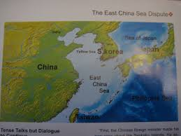 East China Sea Map Map Delineating Philippine Sea East China Sea Defenders Of
