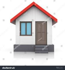 house project drawing turns into 3d stock illustration 523733002