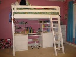 How To Build A Full Size Loft Bed With Desk by Full Size Loft Bed With Desk Underneath And Storage U2014 All Home