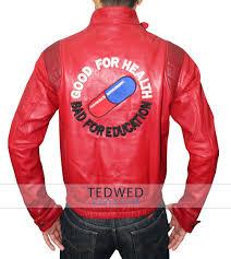 red leather motorcycle jacket red kaneda akira jacket anim capsule