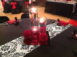 Black And Silver Centerpieces by 57 Best Red Silver Black Chic Wedding Images On Pinterest