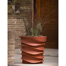 contemporary planter boxes with amazing clay planter boxes design