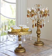 beaded home decor amazon com antique gold crystal mirror top 8 1 2x10 round cake
