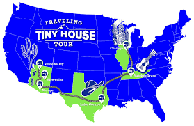 Interactive United States Map by Traveling Tiny Houses Travelingtinyhouse Com