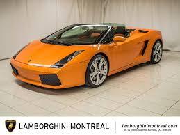 Lamborghini Gallardo Old - pre owned lamborghinis for sale lamborghini montréal