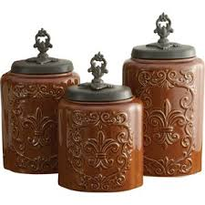 kitchen surprising kitchen jars and canisters 3 piece canister