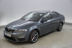 used skoda octavia vrs for sale motors co uk