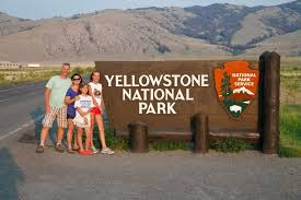 vacation to yellowstone national park cing with bears part
