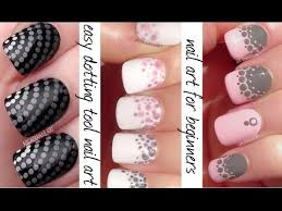 dotting tool nail art 3 easy nail designs for beginners