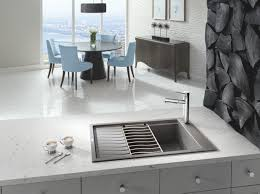 blanco metallic gray sink sleek clean and design forward sink finish with a natural look
