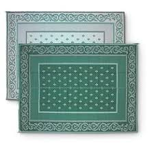 Rv Patio Mats Wholesale Medallion 9 U0027 X 12 U0027 Outdoor Reversible Patio Mat At Hsn Com Hsn